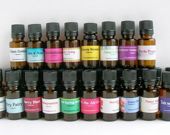 5 Fragrance Oils, Scented Oils, Candle Fragrance, Mothers Day Gift, Home Fragrance Oils, Bath and Body Fragrance - Option 1