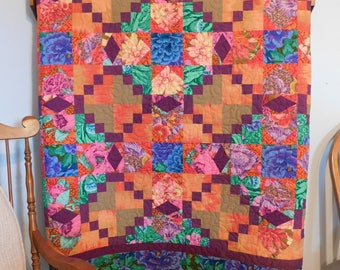 SALE, Buy 2/Get 1 Free -- CAMELOT pdf quilt pattern, Throw, Queen & King sizes