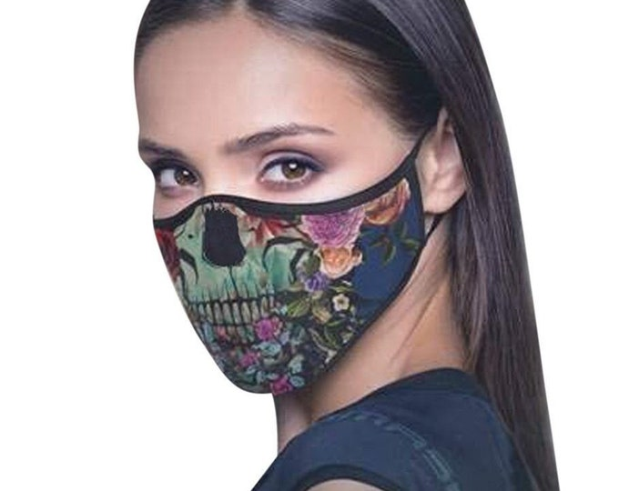 Halloween Face Mask Washable Breathable Reusable - Same day shipping