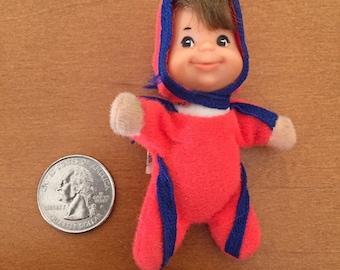 Vintage 1978 Mattel Shoe Baby Beans Mini Doll Adorable 9efef24393a6