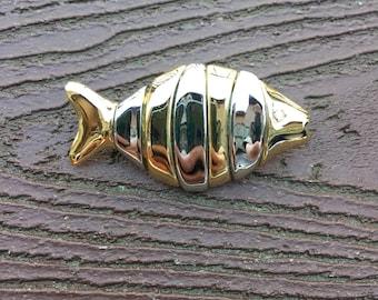 Vintage Jewelry Signed Liz Claiborne Pin Brooch Clownfish Nemo Fish