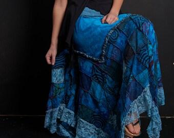 d1131274a88 Pagan velvet skirt