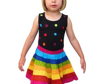 146eecca4 Children sleeveless spotty top