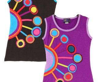 27c6eafd8 Children colourful circles dress