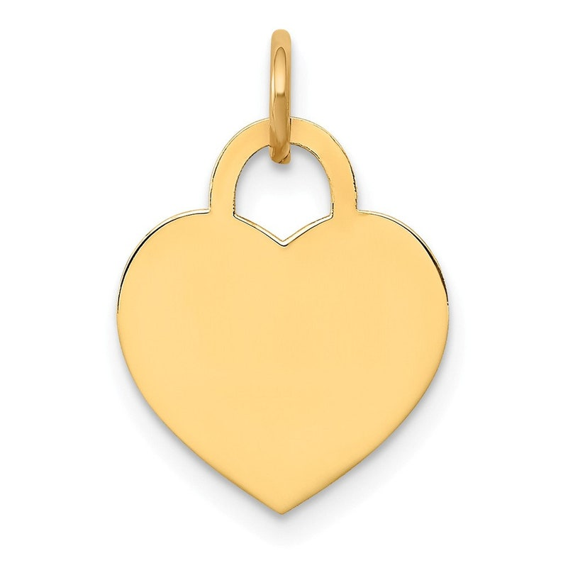14k Yellow Gold Handmade Turquoise Heart Shape Vintage Charms Pendant 14k Heart Charms 14k Gold Heart Charms Jewelry