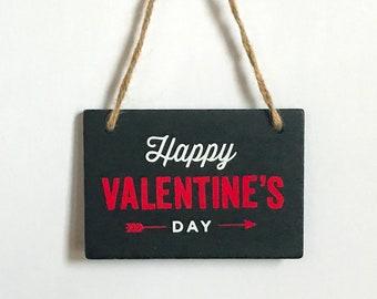 Chalkboard - Happy Valentine's Day - Chalkboard decoration - Valentine's Decor