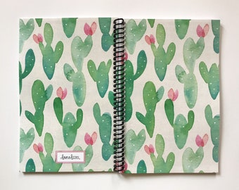 New Cover: Cactus!  Daily Baby Schedule Book, Nursing Journal, Feeding Scheduling for Baby, Customized Cover