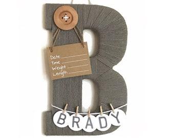 Letter Door Hangers