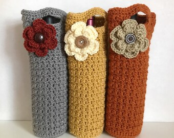 Crocheted Wine Holders