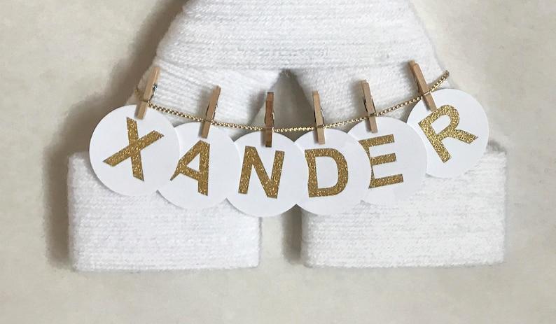 Letter X  Yarn letter  Hospital door hanger  Baby shower gift  Nursery decor  Baby boy door hanger  Hospital decor