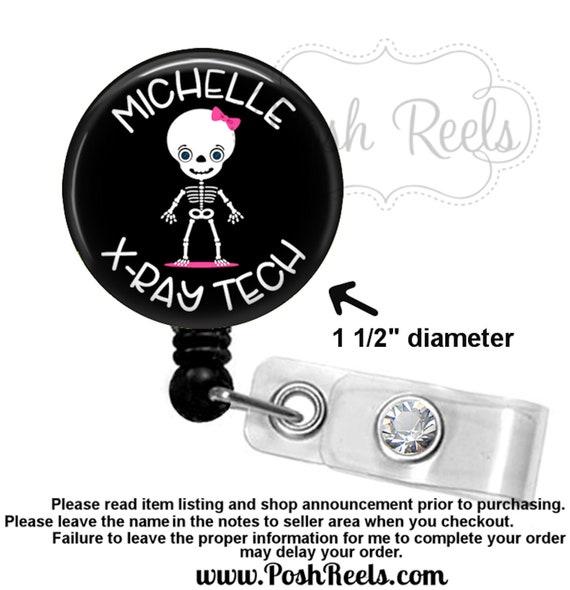 Xray Badge Reel|Xray Tech Badge Reel|Radiology Tech Badge Reel|Radiologist Badge Reel|Pelvic Xray Badge Reel