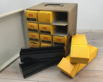 Vintage Slide Kodak Cavalcade Trays - Photography Studio Equipment -Photo Portfolio Display