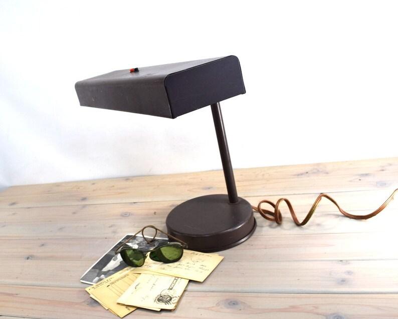 Merveilleux Underwriters Industrial Desk Lamp, Drafting Table Light