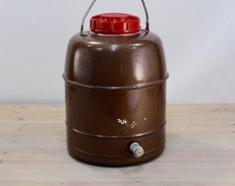 Drink Dispenser, Brown Cooler