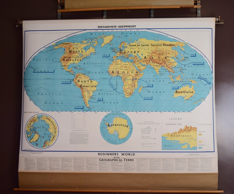 Vintage Map, World Map, Pull Down Map, Large Industrial Wall Map of on topographical map of the world, regions map of the world, energy map of the world, income map of the world, water map of the world, small scale map of the world, general map of the world, geophysical map of the world, school map of the world, country map of the world, economic map of the world, flat map of the world, culinary map of the world, aerial map of the world, the political map of the world, geographical map of the world, traditional map of the world, travel map of the world, natural resource map of the world, military map of the world,