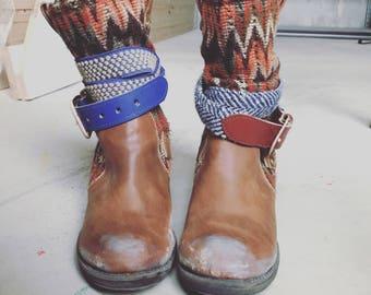 Distressed Boho Boots