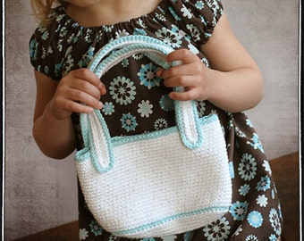 INSTANT DOWNLOAD Little Purse PDF Crochet Pattern by Leila and Ben
