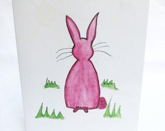 Card, Slim Bunny Cards