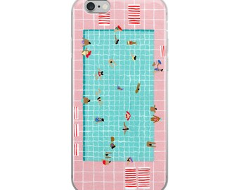 """iPhone Case of """"Pink tiles"""""""