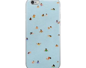 """iPhone Case of """"Dusty Blue II"""""""