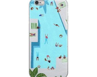"""iPhone Case of """"Crisp cut swim"""""""