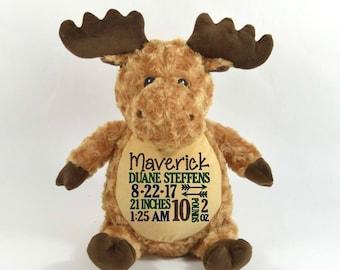 Moose Stuffed Animal Etsy