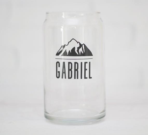 beer can glass Groomsmen gifts wedding beer glass  grooms gift craft beer glasses groomsmen gift ideas  personalized beer glass