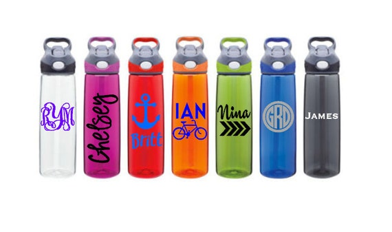 Personalized Decal for Your Contigo Bottle // vinyl decal // gifts for men // teacher gift // monogram decal // personalized water bottle