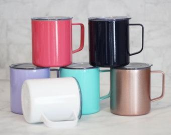 Maars Stainless Steel Townie Mug // 14 ounce capacity // blank