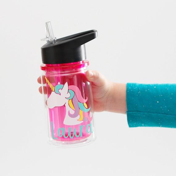 unicorn water bottle cute water bottle unicorn bottle kids sports bottle sports water bottle unicorn kids party unicorn gifts sports bottle