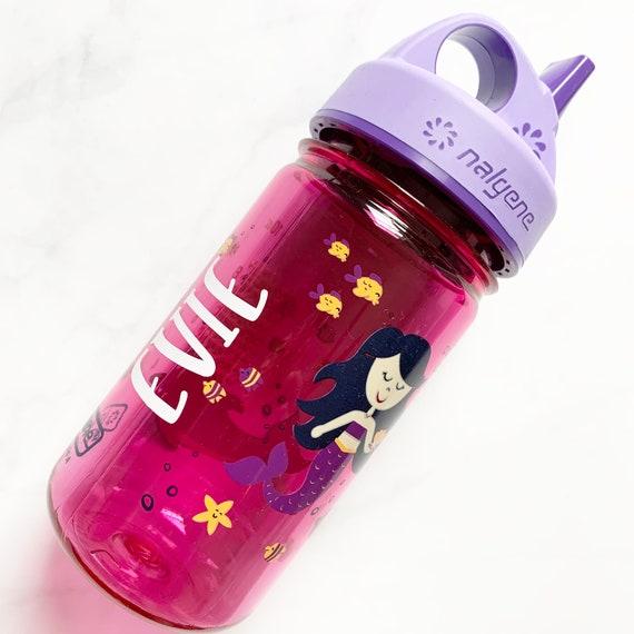 Personalized Toddler Nalgene Bottle //  mermaid water bottle // custom water bottle // kids water bottle // school  bottle // birthday  gift