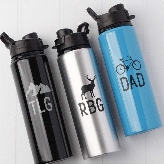 Father's Day Water Bottle // outdoor lover gift