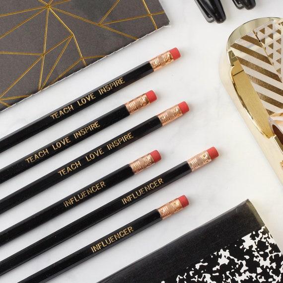 Teacher Gift Pencil Set // Teach Love Inspire // Influencer // Unique Teacher Gift // Back to School Gift