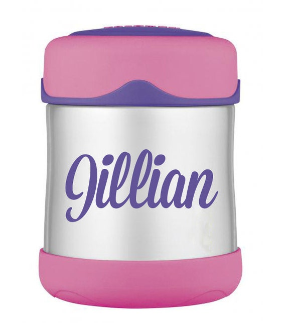 Personalized Decal for Thermos Foogo Food Jar