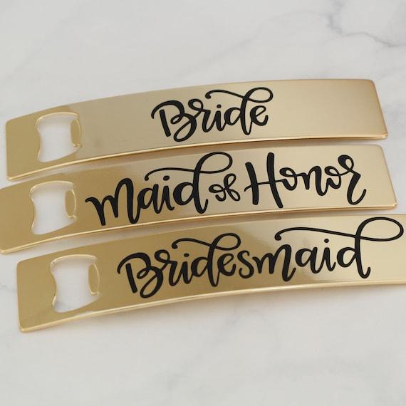 Bachelorette Party Favors // Bridesmaid Bottle Openers // Bridesmaid Proposal