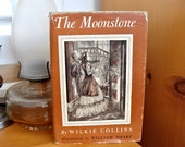 1946 The Moonstone Wilke Collins Illustrated by William Sharp Mystery Detective Story Doubleday Book Club Edition