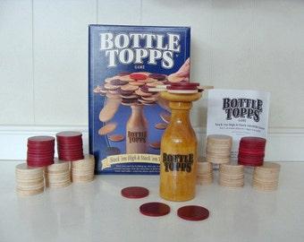 110 Round Wooden Discs 1993 Bottle Topps Game