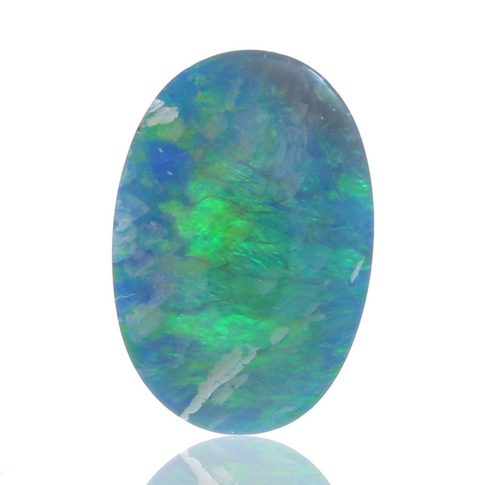 2,97 ct opale Doublet australien opale Lightning Ridge, naturel non traité traité non opale lâche pièce SKU: 2003A013 893810