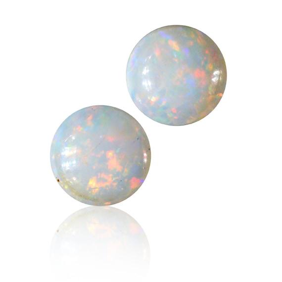 0,73 0,73 0,73 ct assortie paire solides opales australiennes blanches Coober Pedy, naturel non traité opale lâche pièce SKU: 1935A010 fb7ce9