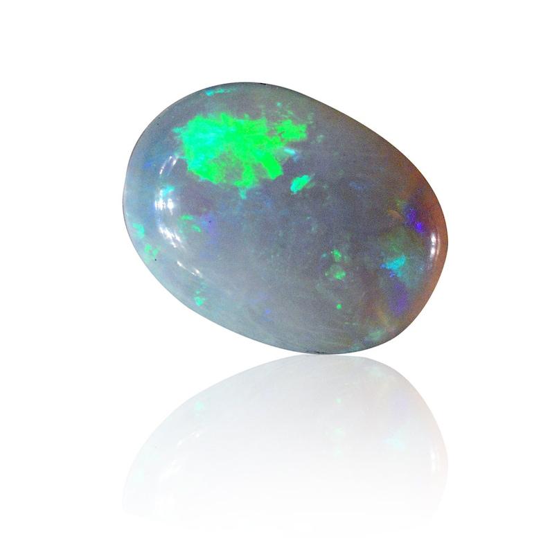 1935A018 Natural Untreated Loose Opal Piece SKU 0.63ct Solid Crystal Australian Opal Lightning Ridge