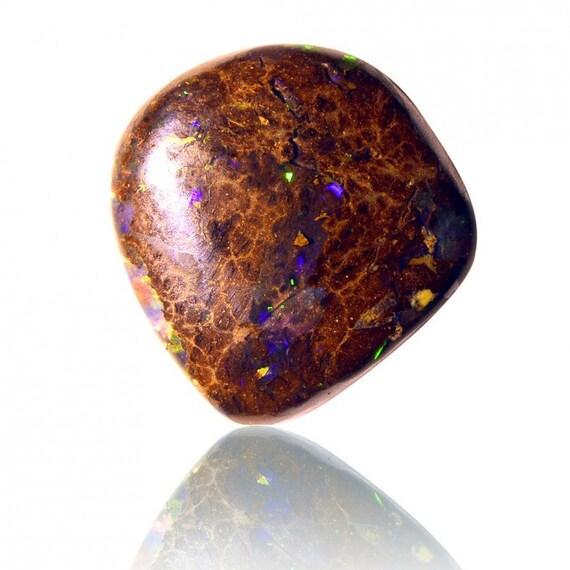 4,70 ct matrice solide Boulder non opale australienne Yowah, naturel non Boulder traité opale lâche pièce SKU: 1917A004 52a513