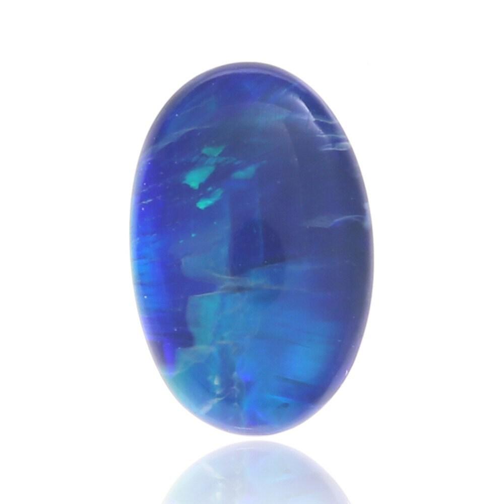 1,52 ct opale opale opale Doublet australien opale éclairage Ridge, naturel non traité opale lâche pièce SKU: 2003A001 4246c9