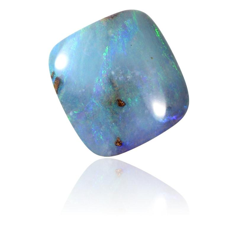 Natural Untreated Loose Opal Piece SKU 1963A002 8.37ct Solid Boulder Australian Opal Queensland