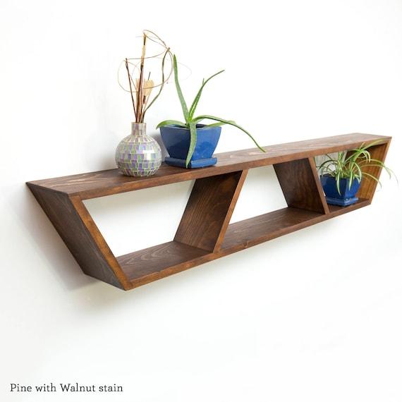 mid century modern shelves Mid Century Modern Shelf Book Shelves Floating Mantle Shelf | Etsy mid century modern shelves