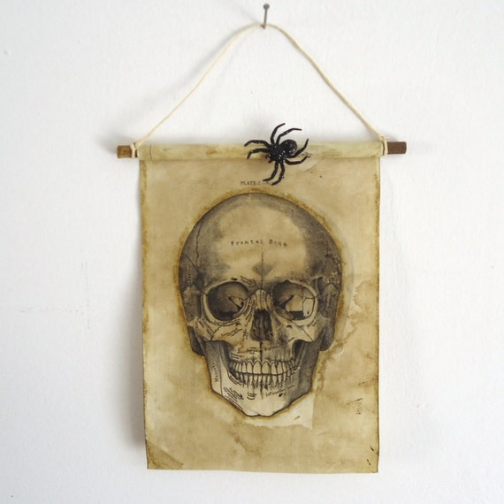 Haunted House Decor Scary Halloween Skull Wall Decor