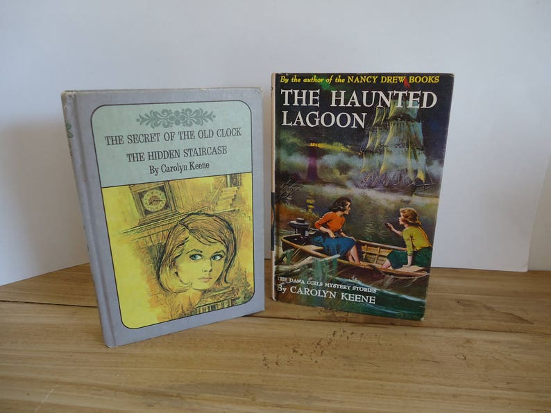 Nancy Drew books Carolyn Keene vintage hardcover collectable image 0