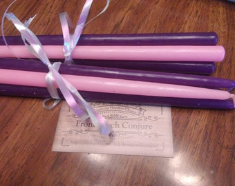 Taper Advent Candle Set, Easter candles
