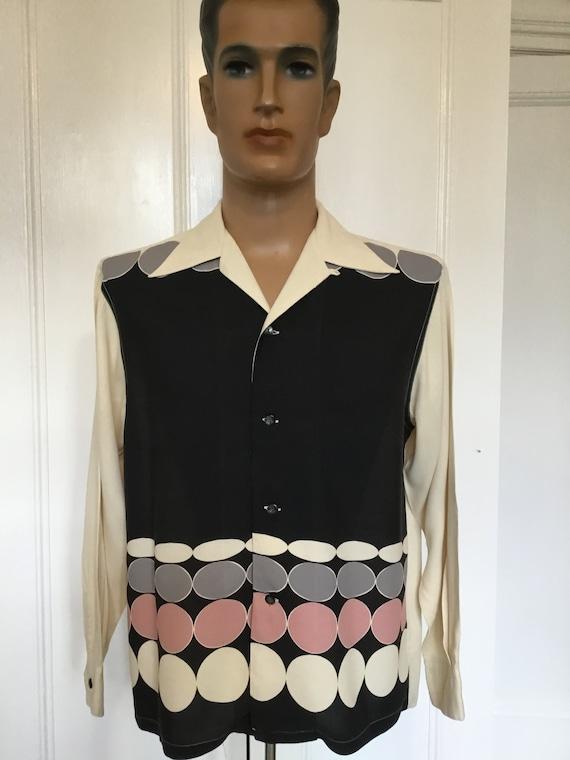 1950s Style Vintage Shirt