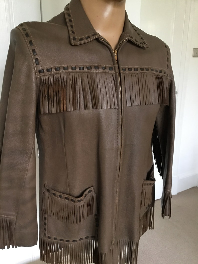 REDUCED! Vintage 1950/'s60/'s BuckHide Fringe Jacket