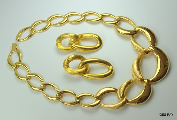 Park Lane Jewelry Set Chunky Chain Runway Necklace